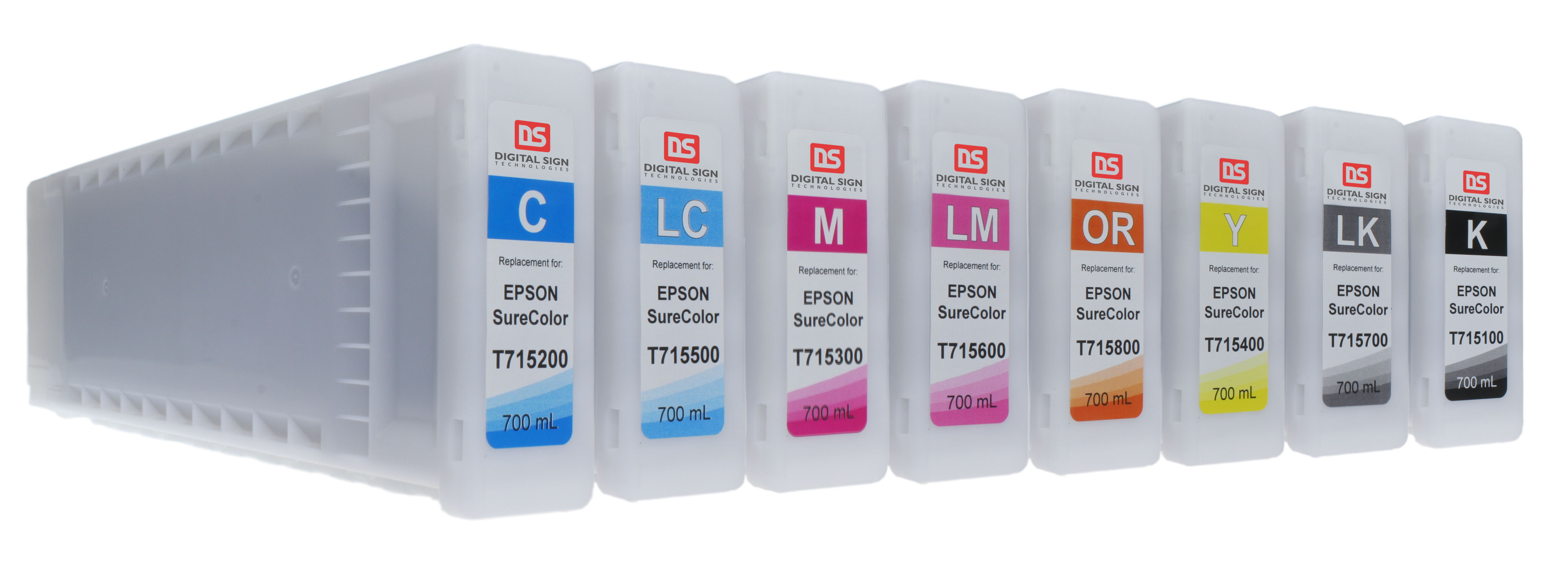 Epson UltraChrome GSX ink cartridges by DST