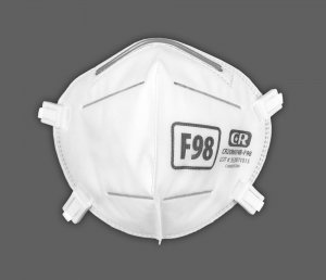 F98 Respirator, Medical Grade, Reusable, with Adjustable Straps