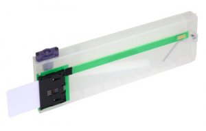 Mutoh refillable bulk cartridge with an automatic level control