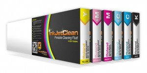 InkJetClean printable recovery fluid for Epson print heads